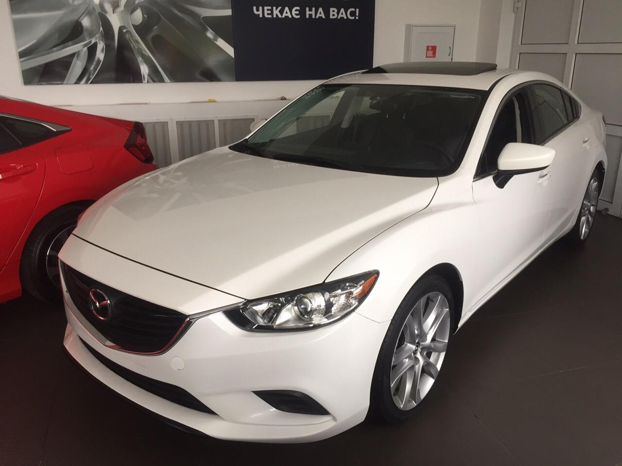 Фотографии Mazda 6 2016 в автосалоне Автомир
