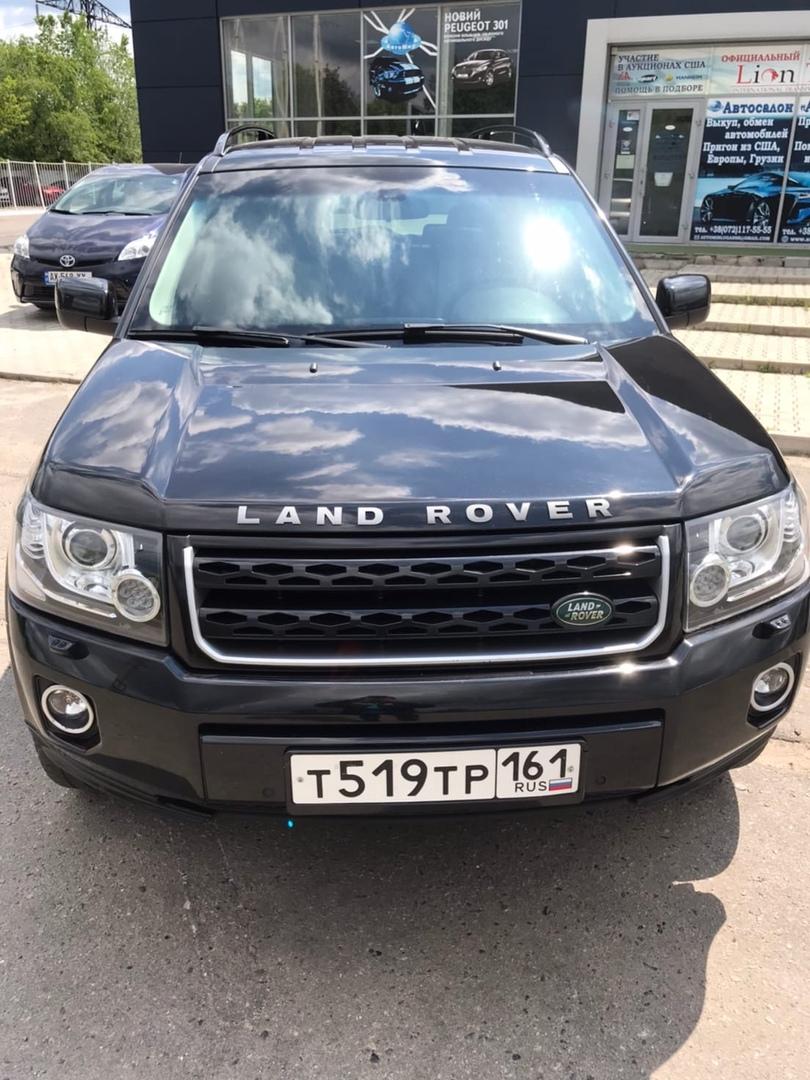 Фотографии Land Rover Freelander 2 в автосалоне Автомир